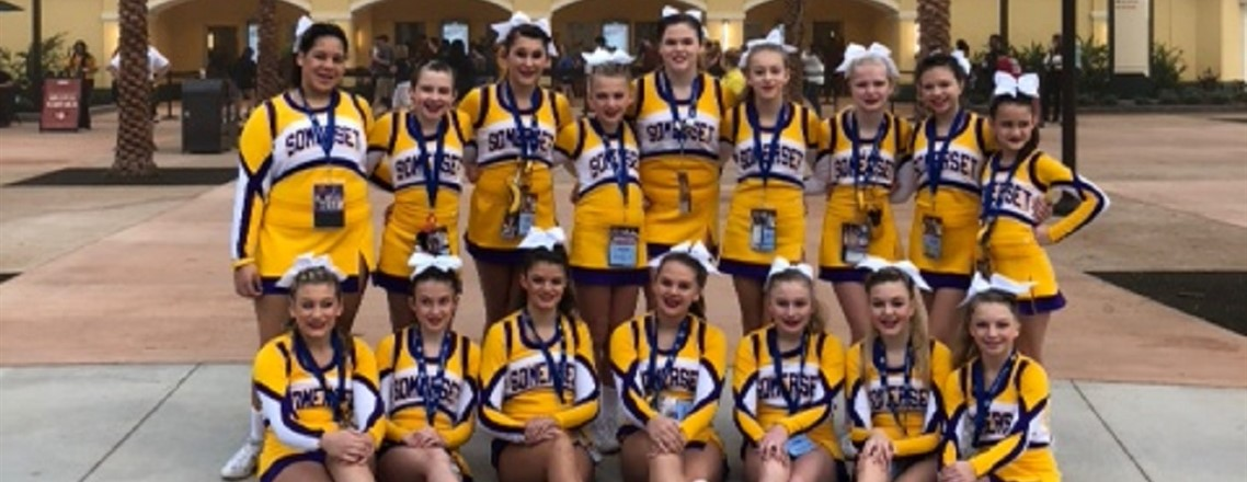 MMS Cheerleaders 13th in Nation!