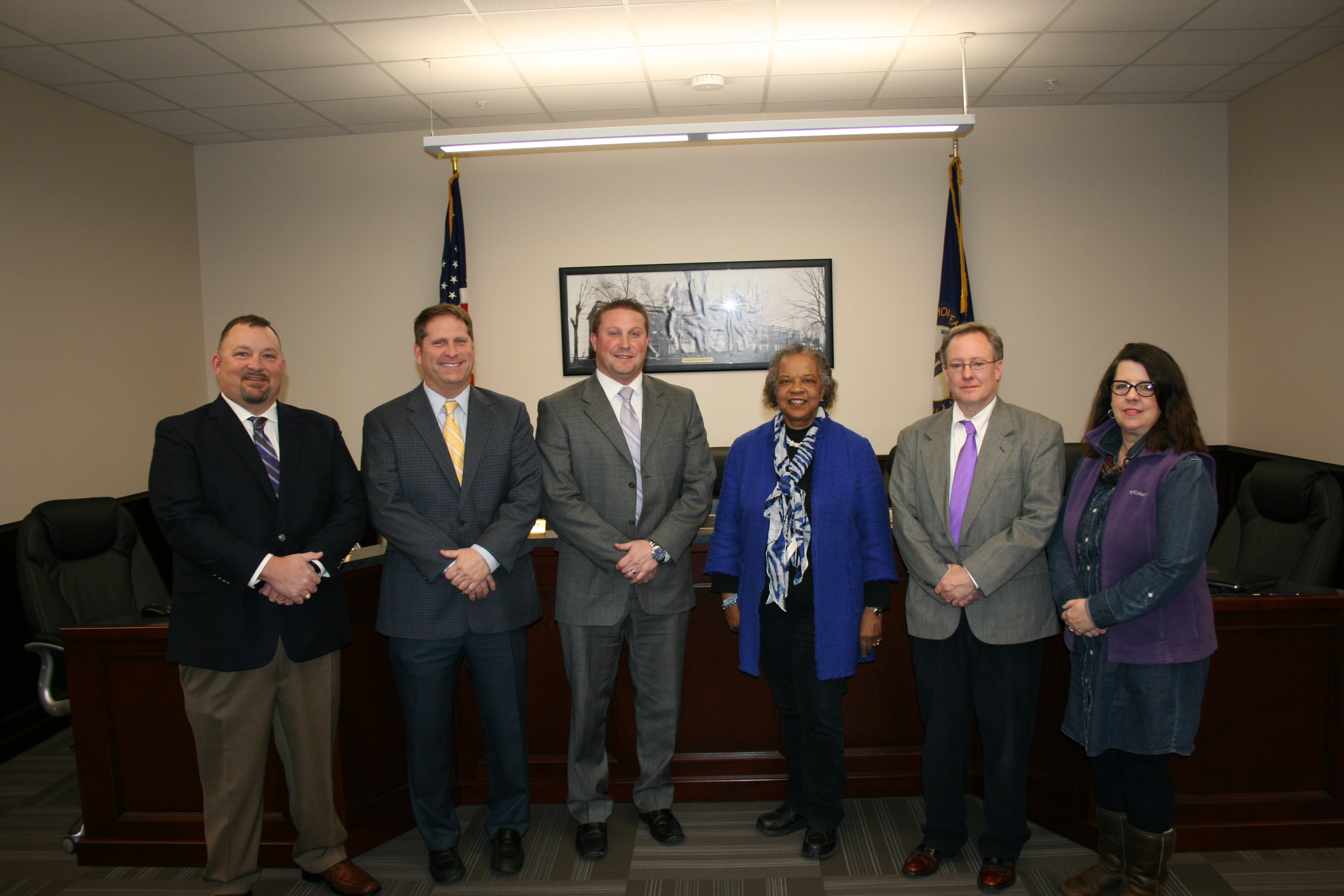 2017 Somerset Board of Education Members and Superintendent