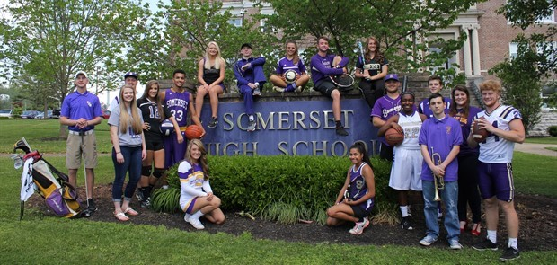 Somerset High School Seniors Show Pride