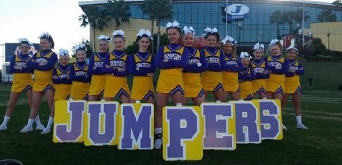 Meece Middle School Cheer Team Competes at Nationals