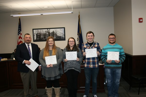 January Board Recognition