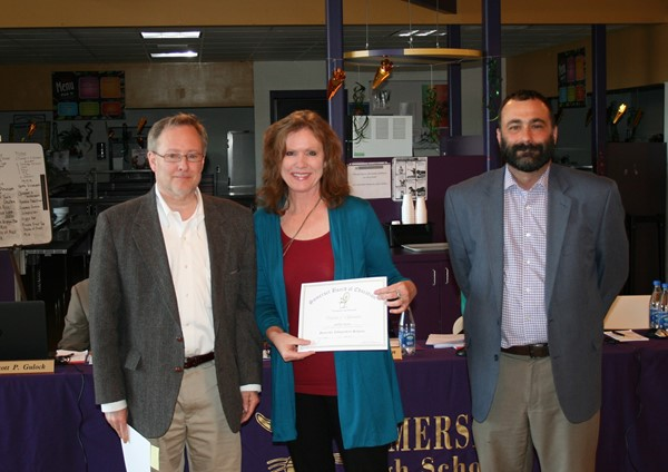 April Board Recognition at Somerset High School