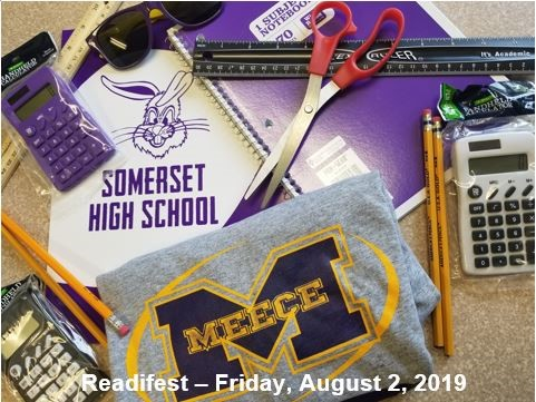 Readifest @ Alumni Center - Somerset High School